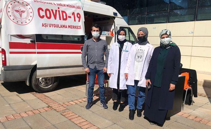 Üniversite kampüsüne aşı istasyonu kuruldu