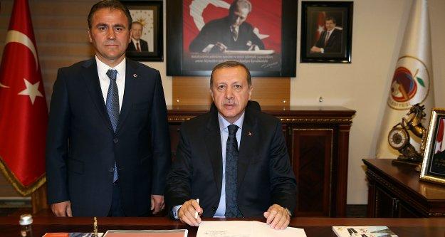 Cumhurbaşkanı Erdoğan'dan Çimen'e Tam Destek