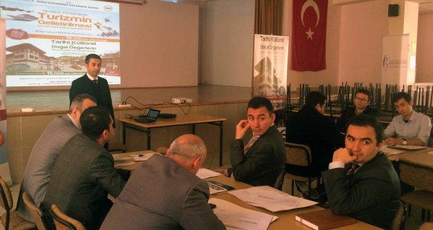 DOKA'dan Gümüşhane'de proje yazma eğitimi
