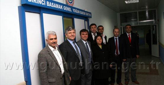 GDH 1. Basamak Genel Yoğun Bakım Ünitesi Hizmete Açıldı