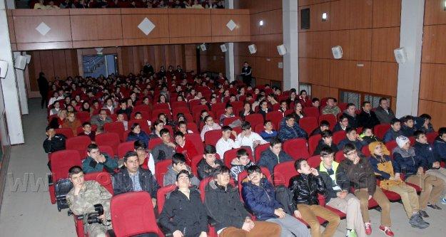 Gençlere askeri okullar tanıtıldı
