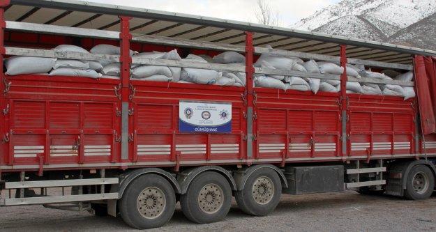 Gümüşhanede 20 Ton Kaçak Çay Ele Geçirildi