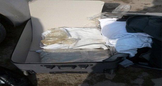 Gümüşhane'de 2,5 Kilogram Toz Esrar Yakalandı