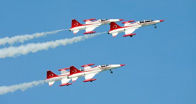 Gümüşhane'de Solotürk Türk Yıldızları rüzgarı esecek