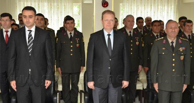 İl Jandarma Komutanlığı'nda Şilt Takdim Töreni Yapıldı