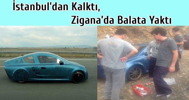 İstanbuldan Kalktı, Ziganada Balata Yaktı