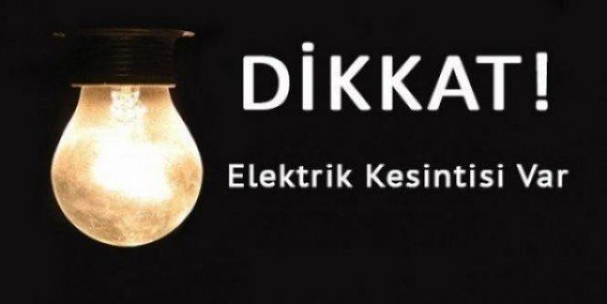 Merkez ve Torul Köylerinde Elektrik Kesintisi Yapılacak