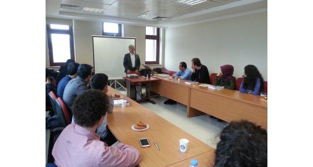 Milletvekili Aydın Gazi Üniversitesinde Liderlik Eğitimi Verdi