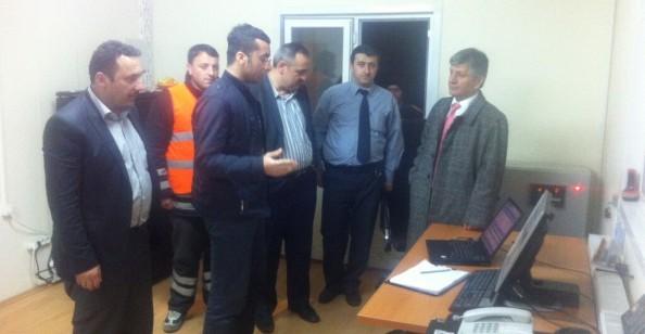 Milletvekili Aydın Gece 2'de Yol Denetim İstasyonunu Ziyaret Etti