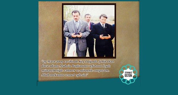 Milletvekili Üstün, Yazıcıoğlu'nu unutmadı