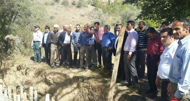 Seydibaba Köyü Köprüsü Yapılıyor