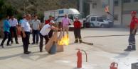 Türk Telekomda yangın tatbikatı