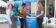 Belediye ve Emniyet GÜde tanıtım standı açtı