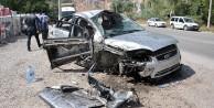 Gümüşhanede feci kaza: 4 yaralı