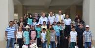 Vali Yavuz başarılı öğrencilerle bir araya geldi