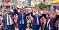 Gümüşhanede AK Parti Adayları Sahaya İndi