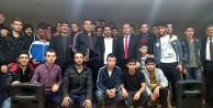 Fatih Akyel üniversite öğrencileriyle...