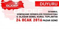 GÜDEFin kongresi 24 Ocakta