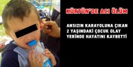 Kürtünde 2 yaşındaki çocuk feci şekilde can verdi