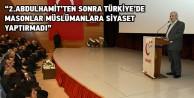 Gümüşhanede 'Allah Dostu Erbakan konferansı yapıldı