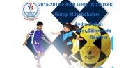 Gençler Futsal grup müsabakaları Gümüşhanede