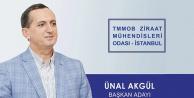 İstanbul Ziraat Mühendisleri Odası Başkanlığına Gümüşhaneli Aday