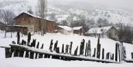 Gümüşhanede 95 köy yolu ulaşıma kapandı