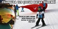 Gümüşhanede Yarıyıl Tatilinde 120 Çocuk Kayak Öğrendi