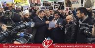 Gümüşhaneliler Taksim#039;de #039;Teröre Lanet, Kardeşliğe Evet#039; dedi