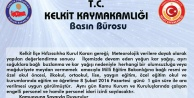 Kelkit#039;te okullara kar tatili