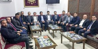 GÜDEF 1. Bölge Başkanları GÜSADda buluştu