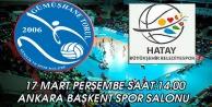 Torul Birinci Lig aşkına, haydi Başkent salonuna