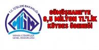 Gümüşhaneye 8,5 milyon TLlik KÖYDES ödeneği
