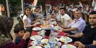 Eskişehirdeki Gümüşhaneliler iftar sofrasında bir araya geldi