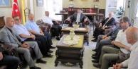 GTSO heyeti Vali Memişi ziyaret etti