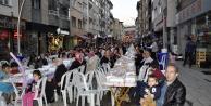 Gümüşhanede mahalle iftarları devam ediyor