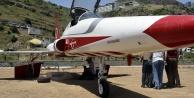 Gümüşhane'ye savaş uçağı indi!
