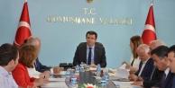 Gümüşhanede İl İstihdam ve Mesleki Eğitim Kurulu toplantısı gerçekleştirildi