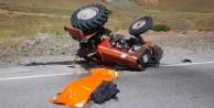 Kelkitte trafik kazası: 1 ölü