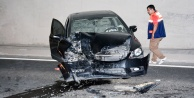 Taşocağı tünelinde kaza: 2 yaralı