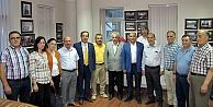 CHP Kocaeli Milletvekili hemşehrimiz Tahsin Tarhandan GTSOya ziyaret