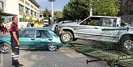 Gümüşhane'de ilginç kaza: 3 yaralı