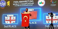 Bir dünya şampiyonluğu da Bilek Güreşinde