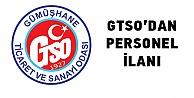 GTSO uzman personel arıyor