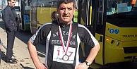 Kaya Trabzon Yarı Maratonunda koştu