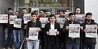 AK Gençlik, Kılıçdaroğluna gazete gönderdi