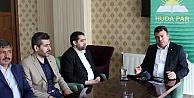 HÜDA PAR Genel Başkan Yardımcısı Yavuz Gümüşhane#039;de
