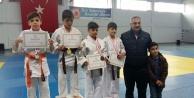 Genç Judocular Kelkitte mücadele ediyor