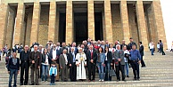 GİAD Yönetim Kurulu Anıtkabirde