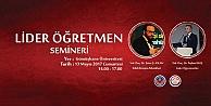 GÜ#039;de #039;Lider Öğretmen#039; semineri düzenlenecek